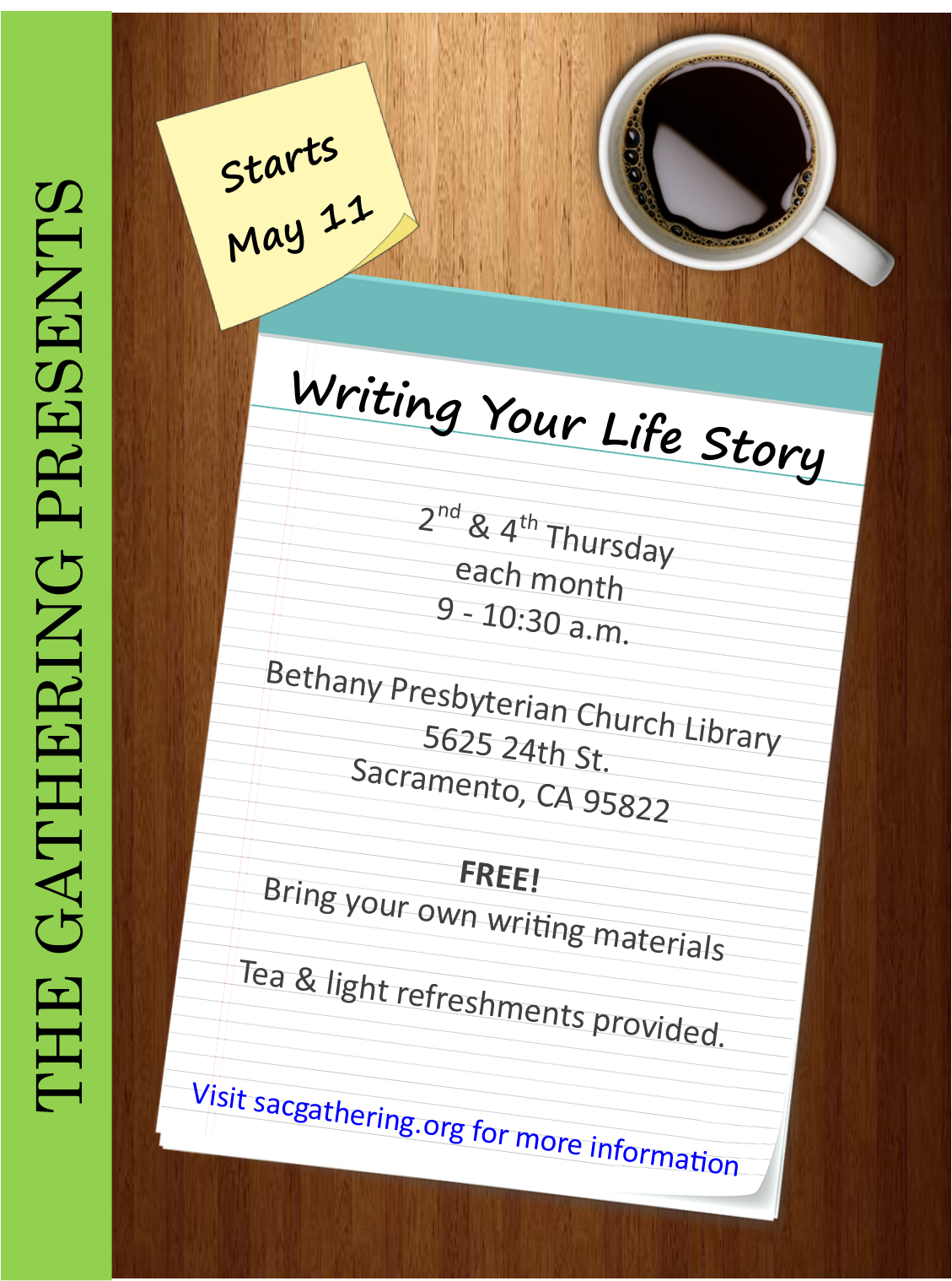 "Workshop: ""Writing Your Life Story"""